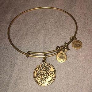 Alex and Ani Aunt bracelet